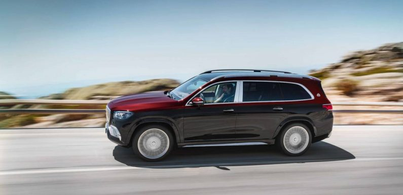 2021 Mercedes-Maybach GLS600: A Taller Ride for Your Chauffeur