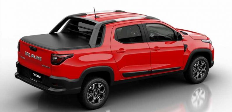 The Ram 700 Is a Cool Mexican-Market Compact Pickup That's Smaller Than the Original Dakota