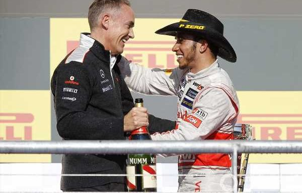 Hamilton hopes Whitmarsh has forgiven him for McLaren F1 exit