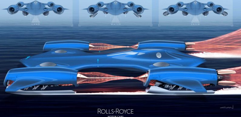 Rolls-Royce Renders The Winners For Its Young Designer Competition