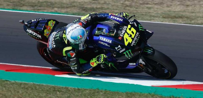 Motorcycle Racing Legend Valentino Rossi Tests Positive for COVID-19