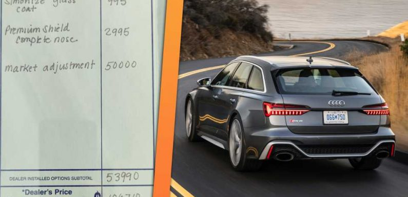 Some Dealerships Are Marking up the New Audi RS6 Avant by $50,000 or More