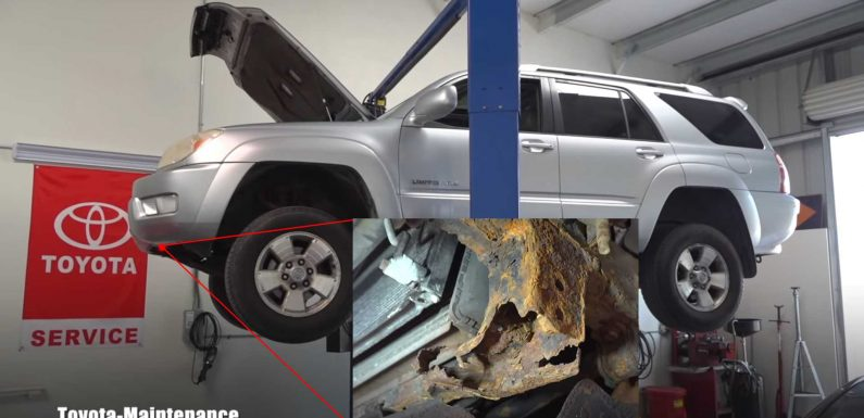 This Clean Fourth-Gen Toyota 4Runner Conceals A Very Rusty Secret