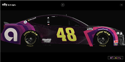 Jimmie Johnson's NASCAR Cup Chevy Will Carry 10,000 Autographs at Martinsville