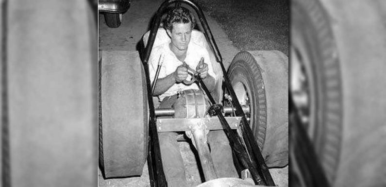 Terrifying Early Drag Racers Really Had the Rear Differential In the Driver's Crotch