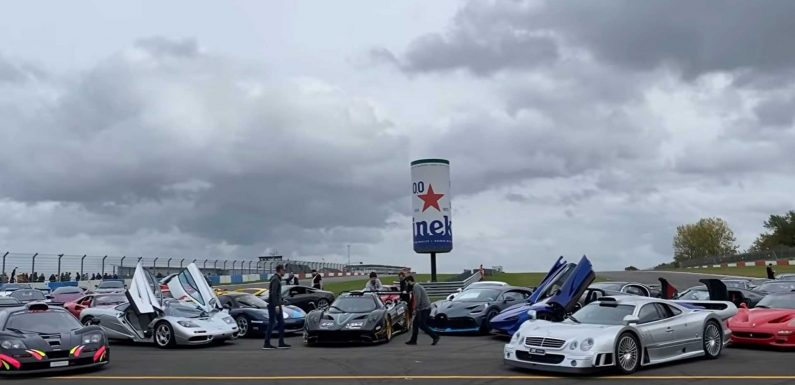 Amazing Supercar Gathering Has Greatest Hits Of Old And New