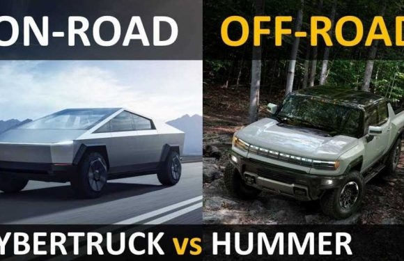 Tesla Cybertruck Vs GMC Hummer EV Off-Road Comparison And Review