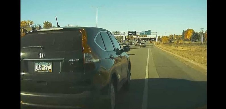 Tesla Model 3 Nearly Sideswiped: Intentional Road Rage Caught On Cam