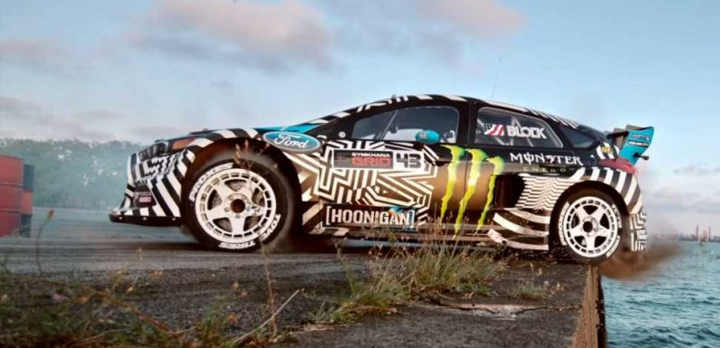 You, Amateur Hoon, Can Own the Ford Focus RS RX From Ken Block's Gymkhana Nine