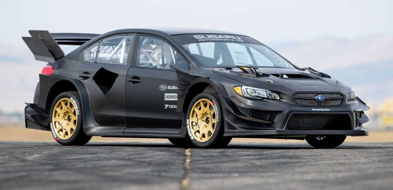 Travis Pastrana Gets Wild Subaru WRX STI For Next Gymkhana  Video