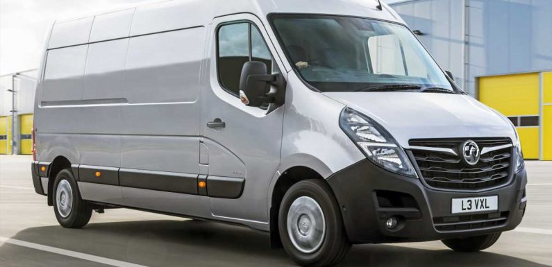 Revised Vauxhall Movano revealed with sharper look