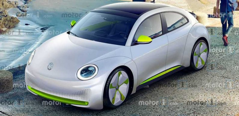 Electric Volkswagen Beetle: Here's What It Could Look Like