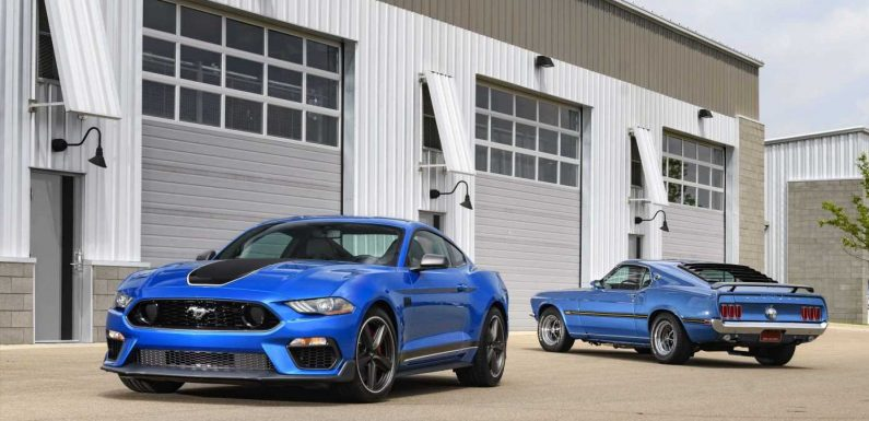 The 2021 Ford Mustang Mach 1 Costs $52,915