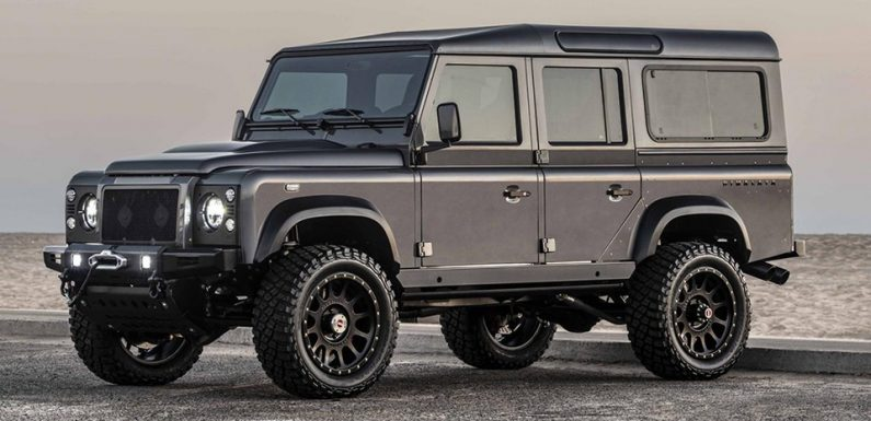 Himalaya Builds Summit Series Land Rover Defender With 650 HP