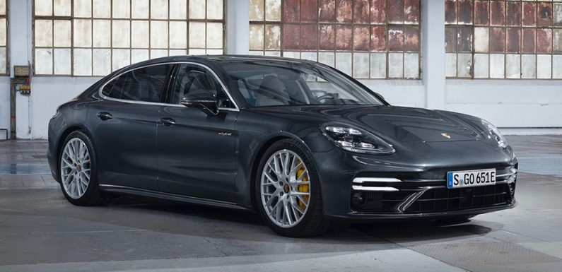 Porsche Panamera Turbo S E-Hybrid Is a 911 GT2 RS for Your Whole Family