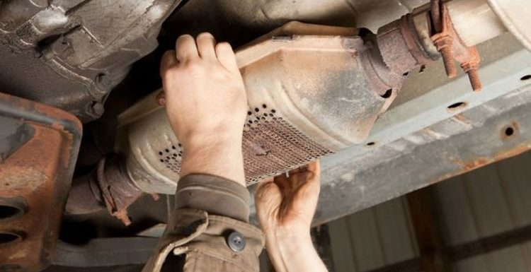 Car catalytic converter crimes in 'significant' increase as parts are 'worth a fortune'