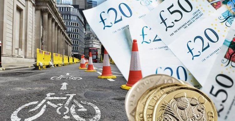 Cycle lane disgrace as new routes cost taxpayer £5,000 a cyclist