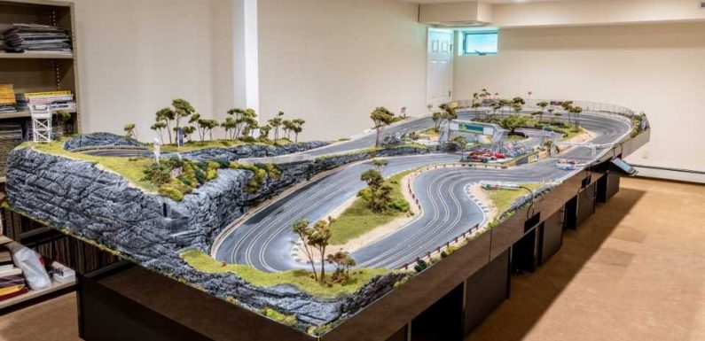 This Giant, No-Reserve Slot Car Paradise Is the Easiest Way to Own a Private Race Track