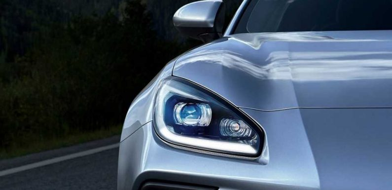 First Official Look at 2022 Subaru BRZ Shows a Face That's Way Less Angry