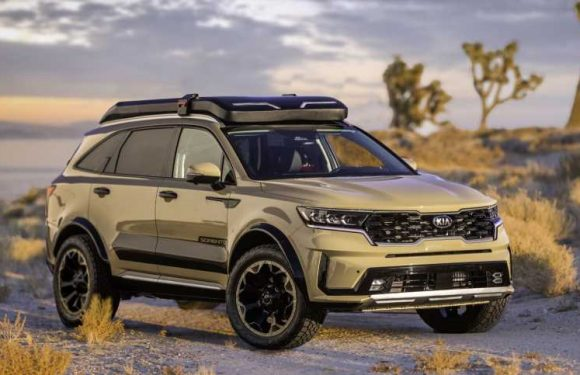 2021 Kia Sorento SUV Looks Surprisingly Tough Lifted and With Big Tires