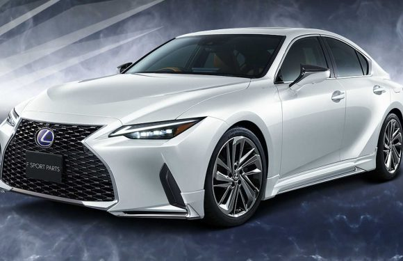 2021 Lexus IS Gets Sporty Bits From TRD And Modellista