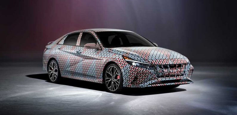 2021 Hyundai Elantra N Teased, Expect Veloster N Powertrain in Sedan Form