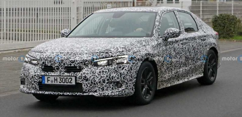 Honda Civic Sedan Spied With Less Cladding Ahead Of Debut