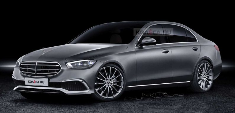 2022 Mercedes C-Class Realistically Rendered After New Spy Shots