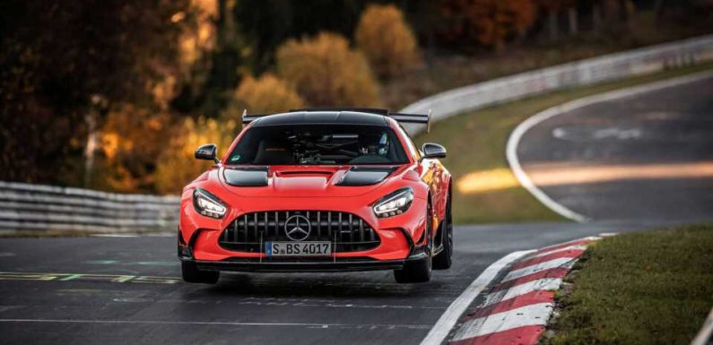 Mercedes-AMG GT Black Series Captures the Nurburgring Lap Record