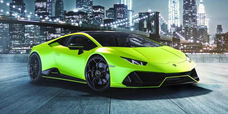 Lamborghini Introduces Five New Colors to Ensure No One Misses the Huracan When it Drives By