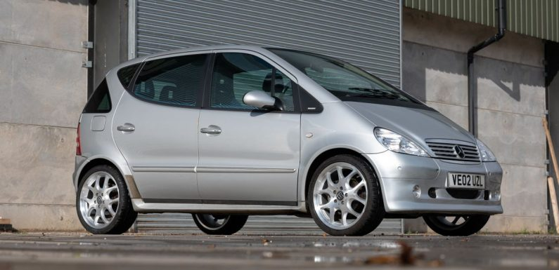 Satisfy Your Left-Field Small Car Urges With A Mercedes A160 Brabus