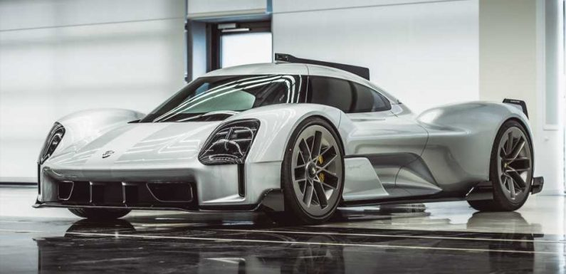 Porsche Actually Designed a Road Version of Its Record-Breaking 919 Le Mans Car