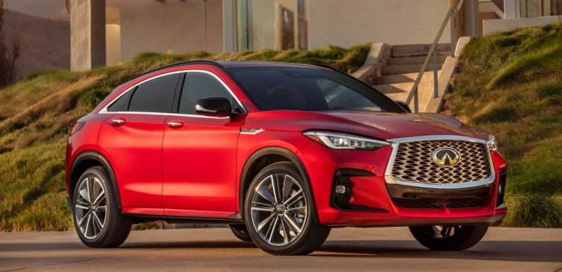 2022 Infiniti QX55: Infiniti Tries Again With a VC-Turbo 'Coupe' SUV
