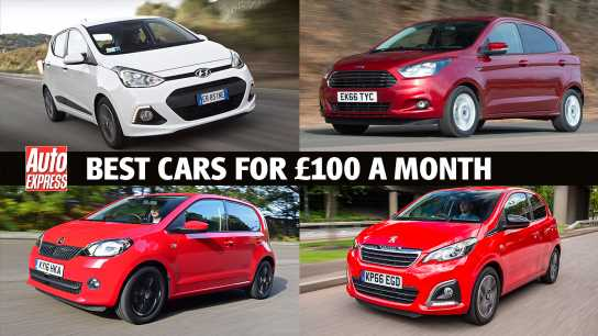 The best cars for £100 per month