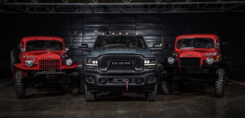 2021 Ram Power Wagon 75th Anniversary Edition Celebrates Its Ancestor With Throwback Looks