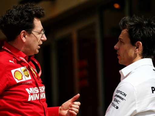 Mattia Binotto doesn't 'hate' Toto Wolff, just wants to beat him | F1 News by PlanetF1