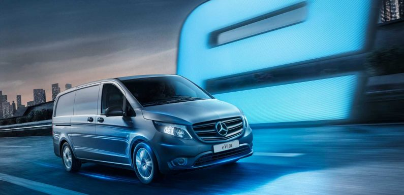 Updated Mercedes eVito electric van on sale now from £49,074