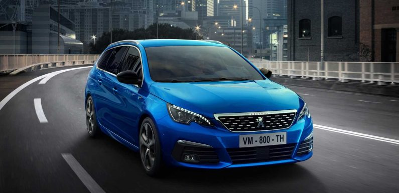 Facelifted Peugeot 308 hatchback on sale now from £21,310