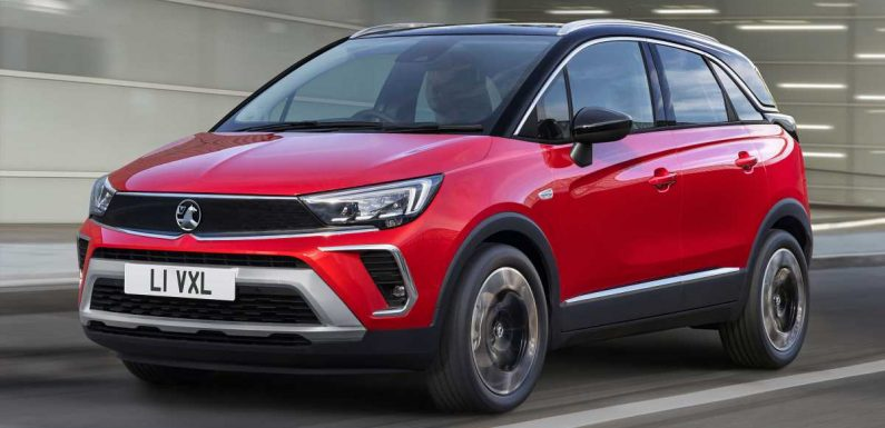 Facelifted 2021 Vauxhall Crossland available to order now