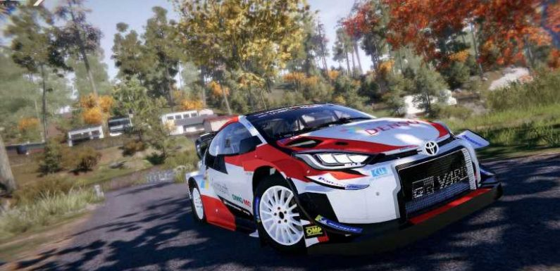 WRC 9 December Update to Add Toyota GR Yaris Rally Concept