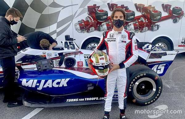 Da Costa eager for more IndyCar opportunities after first test
