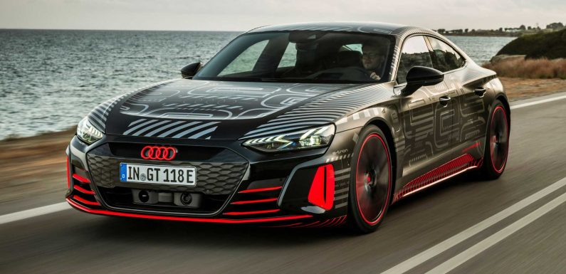 Audi RS E-Tron GT Shown From All Angles In New Teaser