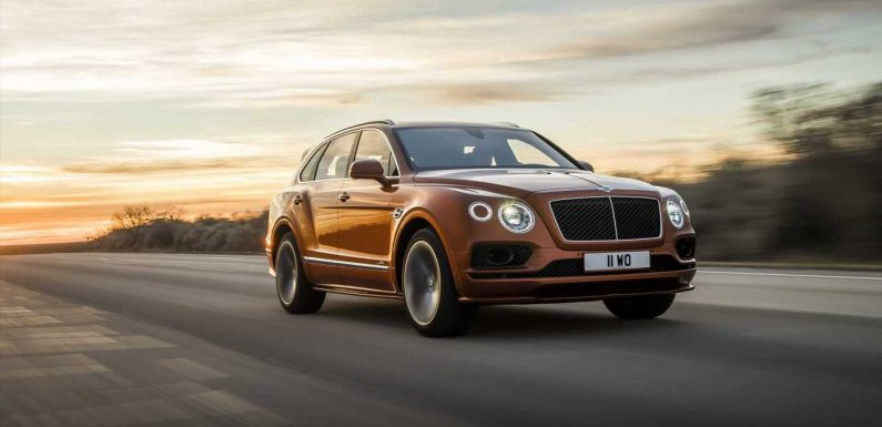 Even With COVID Bentley Is Experiencing Increasing Demand