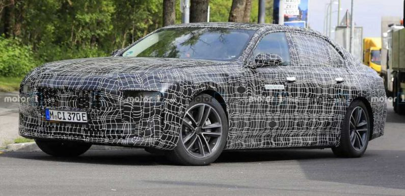 BMW i7 Electric Sedan To Have 300-Mile Range, 500+ HP: Report