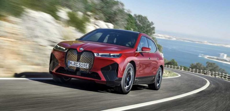 BMW Reveals iX Electric SUV: An X5-Sized EV With A 100-Plus kWh Battery