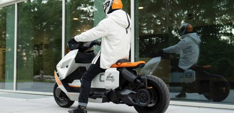 BMW's Cyberpunk Electric Scooter Concept Is Here to Drag Mopeds Into the Future