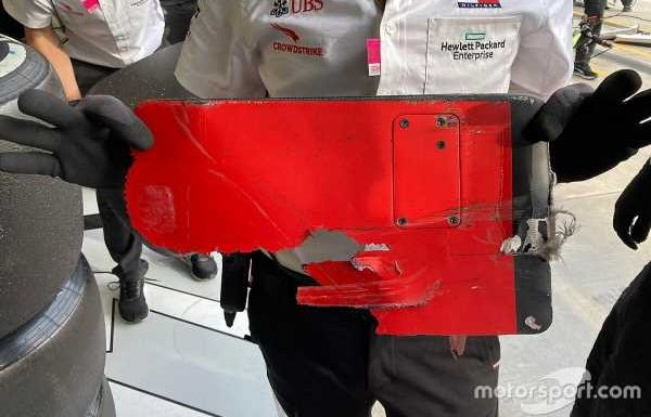 Bottas says he couldn't avoid Vettel's broken endplate