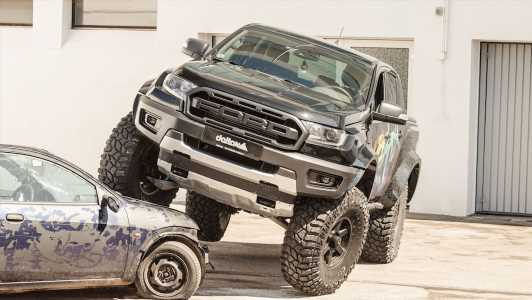 Delta4x4 Shapes the Euro Ford Ranger In the Larger F-150 Raptor's Likeness