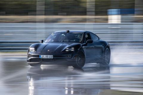 Porsche Taycan sets new Drifting World Record for EVs