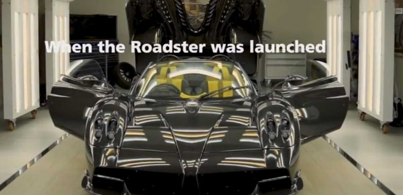 The Final Pagani Huayra Roadster Is A Thing Of Beauty